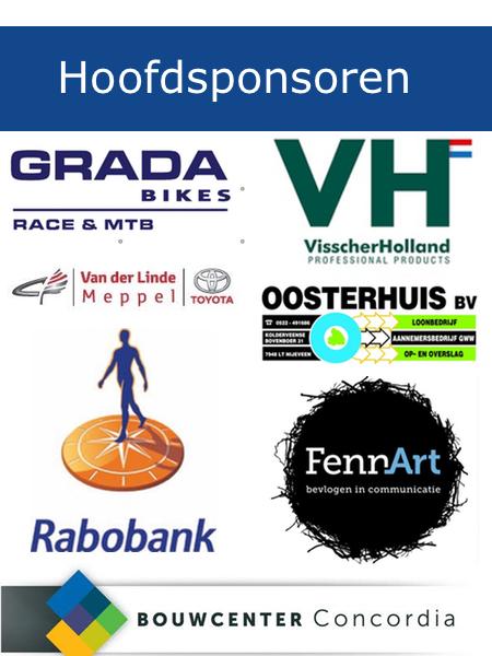 Sponsors Wielercomite Nijeveen